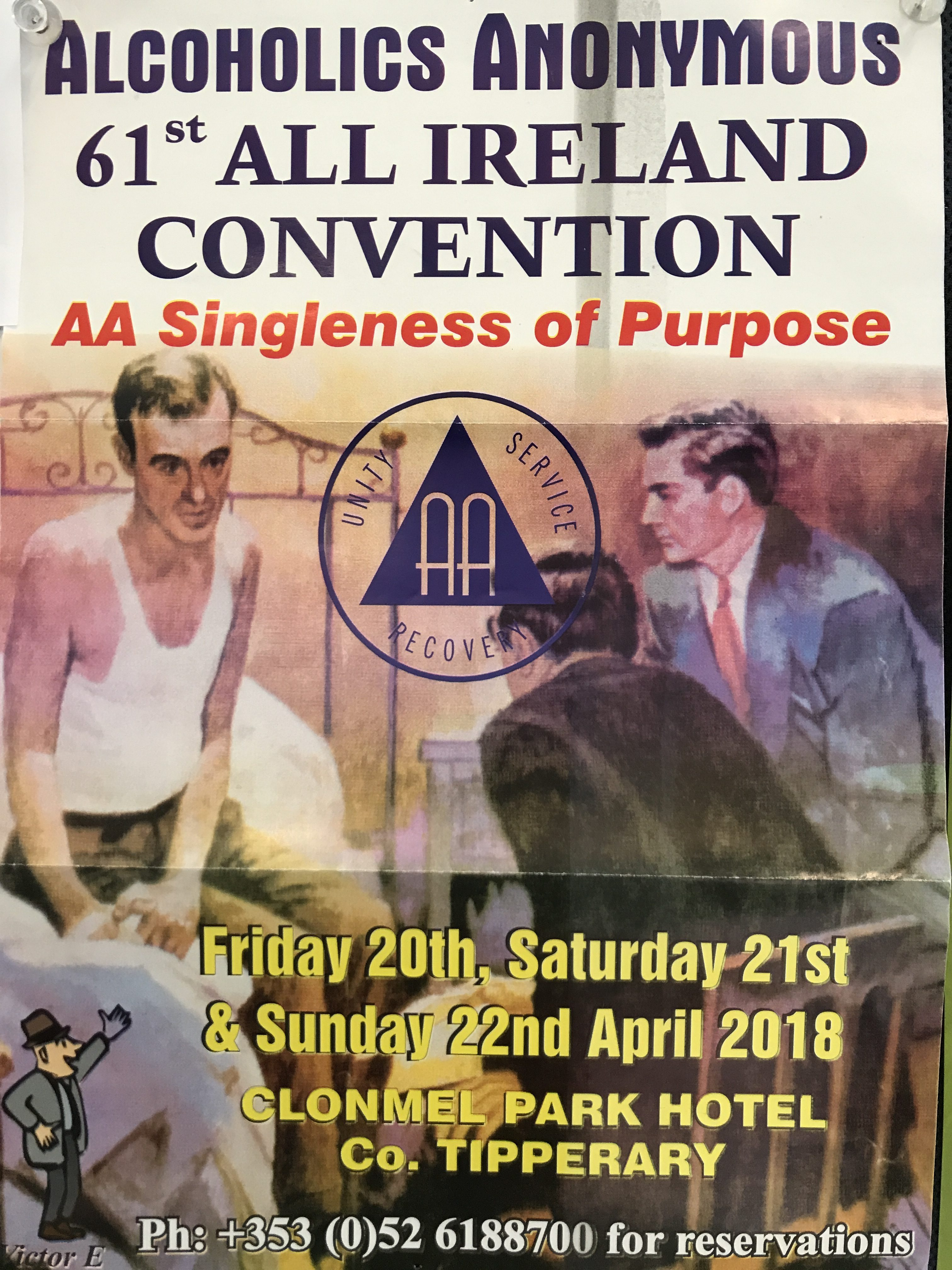 Aa 61st All Ireland Convention With Al Anon Participational Anon